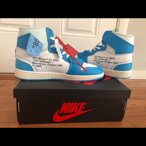 air jordan 1 off white blue legit check